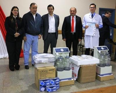 EBY inauguró varias obras de infraestructura en Encarnación