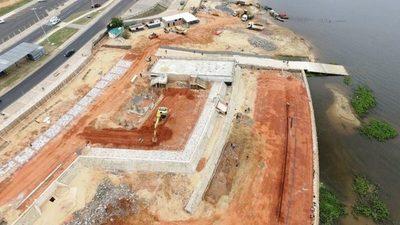 Muelle deportivo de la Costanera concluirá a fines de agosto