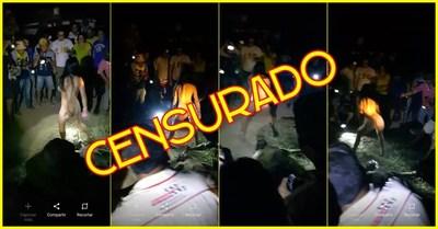 Droga, sexo grupal y descontrol en rally del Chaco? Estaba prohibido filmar.