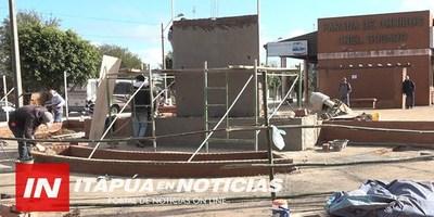 CNEL. BOGADO: CONSTRUYEN EL PRIMER MONUMENTO A LA BIBLIA DEL PARAGUAY