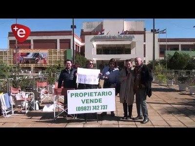 RECLAMAN PREDIO DE LA GOBERNACION