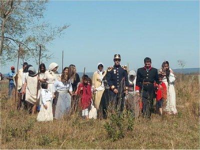 Emotivo homenaje a niños mártires en los campos de Acosta Ñu