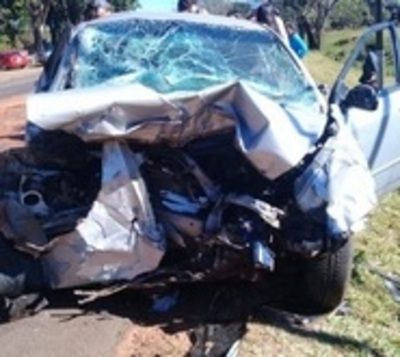 Un fallecido y tres heridos tras grave accidente sobre Ruta 7