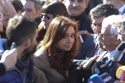 Cristina Fernández comparece ante la Justicia por presunta red de sobornos