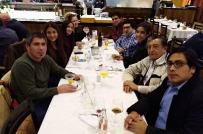 GM peruano Julio Granda compartió con compatriotas residentes en Paraguay