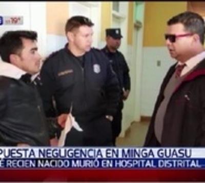 Bebé muere en hospital de Minga Guazú y denuncian supuesta negligencia