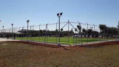 Gobierno inauguró este lunes el Centro Deportivo Municipal de San Ignacio
