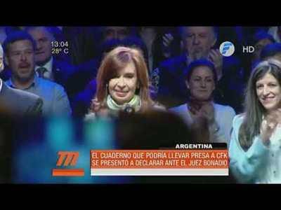 Argentina: Cristina Fernández acusa a Macri de persecución política