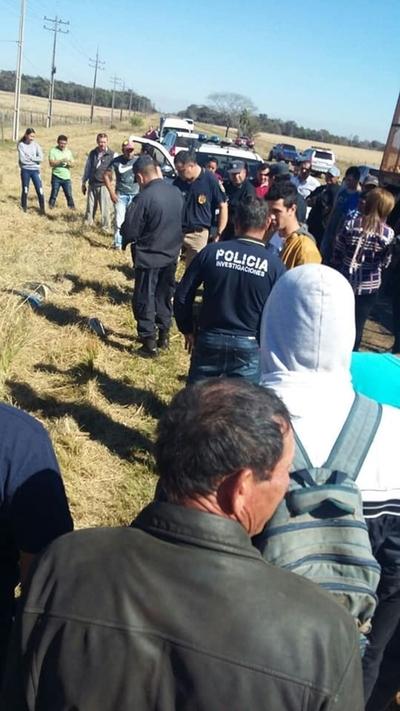 Asesinan a joven en Guairá y tiran su cuerpo a un pastizal