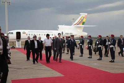 Evo Morales ya está en Paraguay