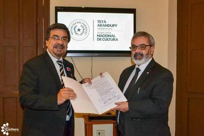 SNC declara de Interés Culturalbloque de Amancio Ruiz Díaz en Paraguay TV