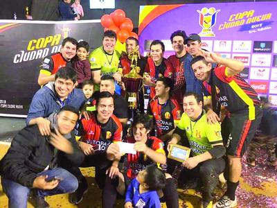 Mburucuyá es el monarca de la Copa Ciudad Nueva