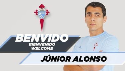 Junior Alonso, refuerzo estelar del Celta de Vigo