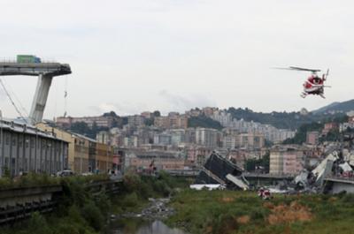 Sube a 35 la cifra de muertos en colapso de puente