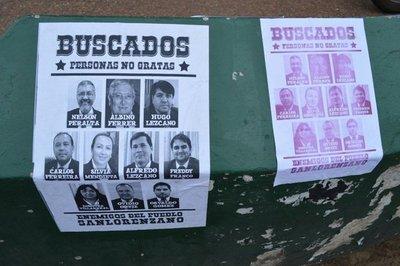 Concejales ofendidos llevan a juicio a manifestantes