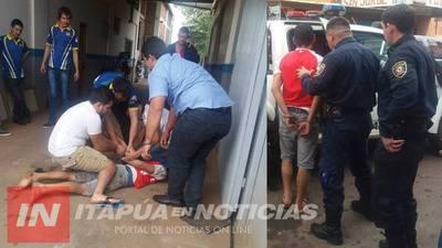 A GARROTAZOS ATRAPAN A HOMBRE TRAS HURTO DE BICICLETA