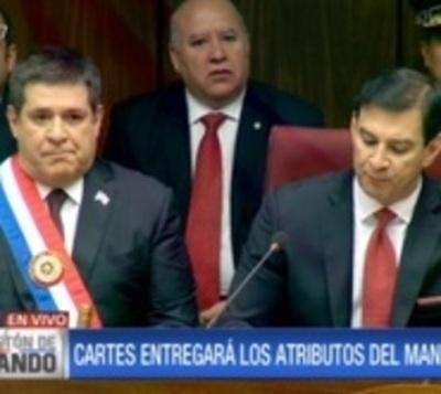 Horacio Cartes ya no es presidente del Paraguay