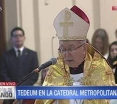 El pedido de la iglesia al nuevo presidente del Paraguay