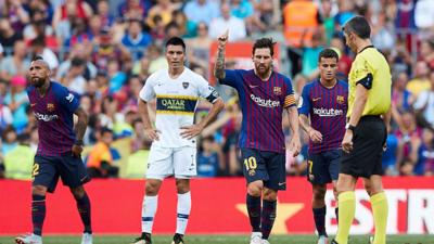 Barcelona goleó 3-0 a Boca Juniors y se quedó con el Trofeo Joan Gamper