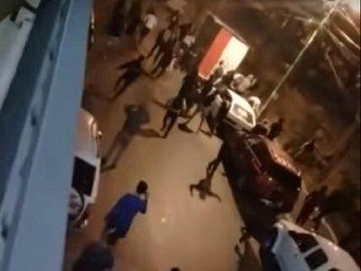 Enfrentamiento entre estudiantes en San Lorenzo