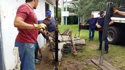 En Ayolas habrá interrupción en el servicio de agua potable por rotura de cañería