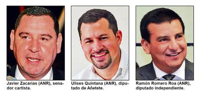 Recomposición de fuerzas en la ANR con el nuevo gobierno