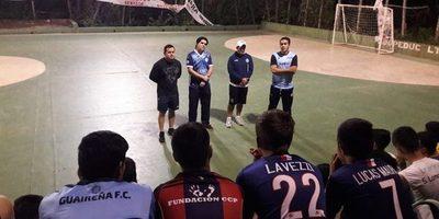 Presentaron ayer cuerpo técnico de la selección de futsal