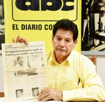 Boliviano reclama a FIFA como proyectista del VAR