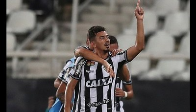 Nacional no pudo con Botafogo y queda fuera de la Conmebol Sudamericana