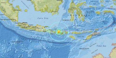 Terremoto en Indonesia: Las autoridades advirtieron por una alerta de Tsunami