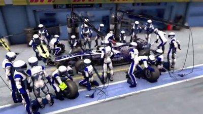 En los boxes de la Fórmula Uno