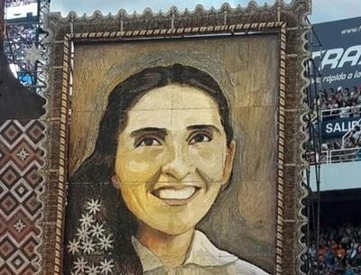 Retablo de Chiquitunga será expuesto durante tres días en la Catedral San Blas
