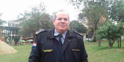 Director de la policía en el Guairá verificó obra de la Comisaría Tercera