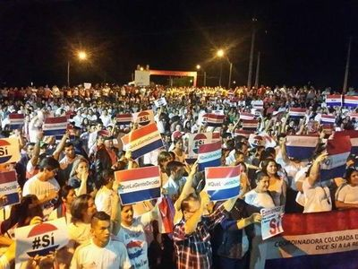 Movilizaciones a favor de la Enmienda, en todo el país