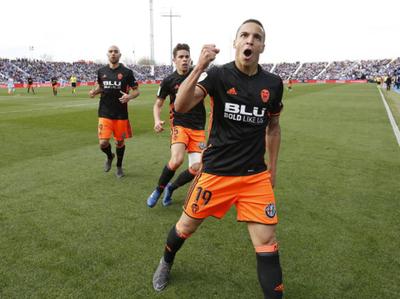 Rodrigo, el goleador de Valencia