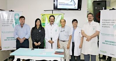Fundación Tesãi inicia campaña de prevención contra el cáncer de próstata