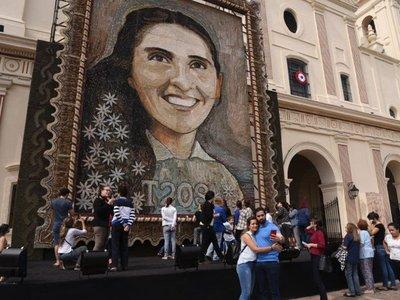 Retablo de Chiquitunga se exhibirá en Ciudad del Este