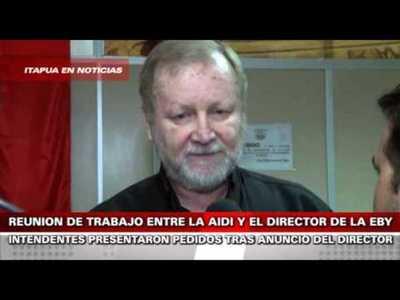 PROMESAS DE PROYECTOS DE LA EBY ATRAE A INTENDENTES