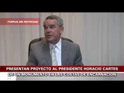 PRESENTAN PROYECTO AL PRESIDENTE HORACIO CARTES