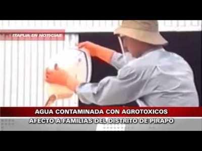 8 PERSONAS RESULTARON INTOXICADAS EN PIRAPO