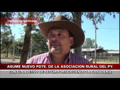 NUEVO PRESIDENTE DE LA A.R.P. ITAPUA EL DR. JORGE AYALA