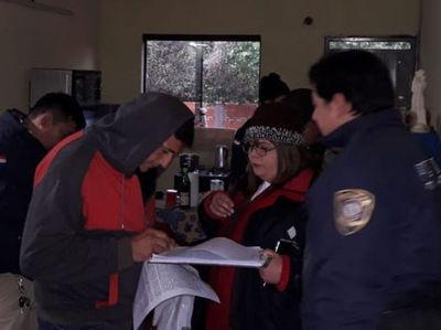 Detenidos tres policías por caso de asalto domiciliario