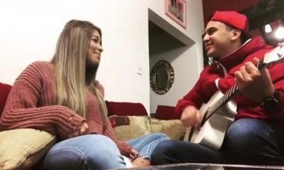 Male González Así Se Puso A Cantar Con Su Novio