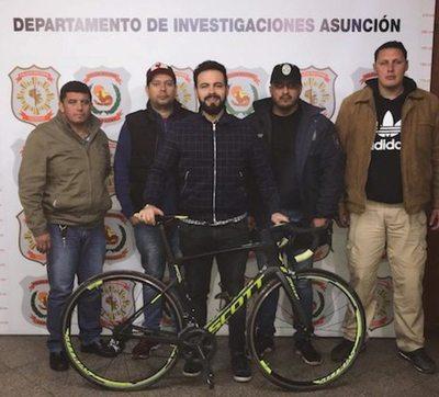 ¡Recuperó su bici robada en 24 horas!