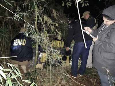 Incautan droga a orillas del Paraná en zona de Salto del Guairá