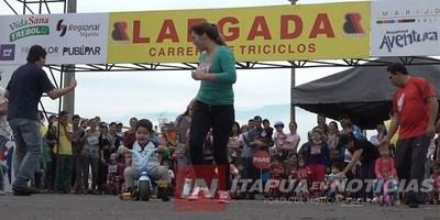 PRESENTARON LA SÉPTIMA EDICIÓN DE LA CARRERA DE TRICICLOS EN ENCARNACIÓN.