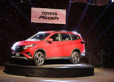 Toyotoshi lanzó al mercado local el nuevo SUV Rush