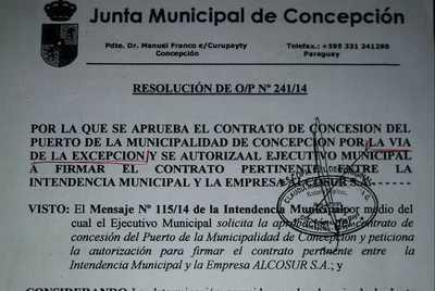 Exconcejal refuerza postura de que el puerto municipal no podía venderse
