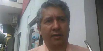Gobernación de Oscar Chávez con problemas de transferencia por informe rechazado