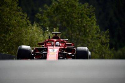 Vettel lidera los entrenamientos